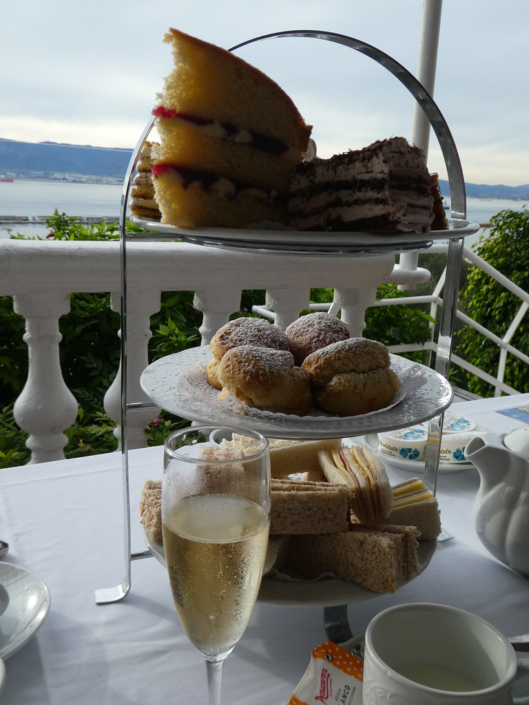 Champagne Afternoon Tea at the Rock Hotel, Gibraltar