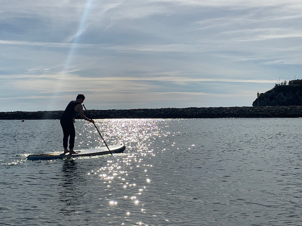 In2Adventures SUP Lesson in Gibraltar