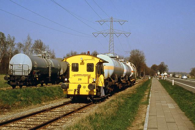 NS 211 Linne 29 maart 1991