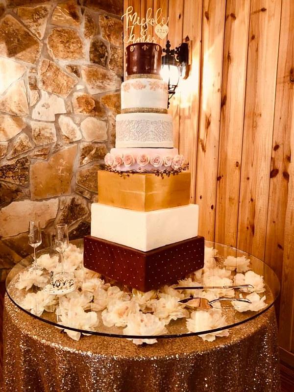 Cake by Sara Goss of SaraDipity Cakes