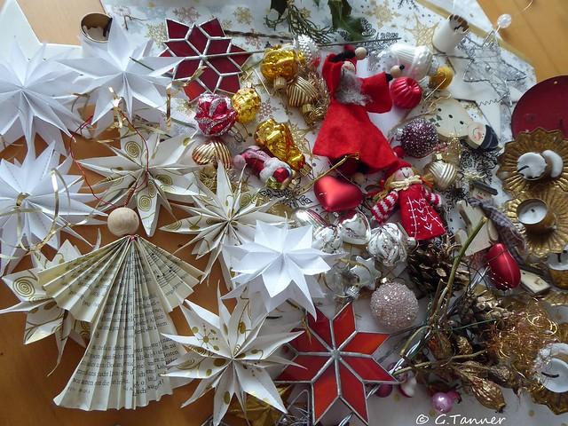 Weihnachtsdeko zu Winterdeko ,,,