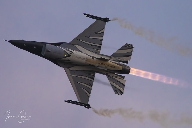 General Dynamics F-16AM Fighting Falcon – Belgium-Air Force – FA-101 – Leopoldsburg-Beverlo (EBLE) – 2019 09 13 – Inflight – 01 – Copyright © 2019 Ivan Coninx