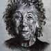 Emily Levine charcoal portrait
