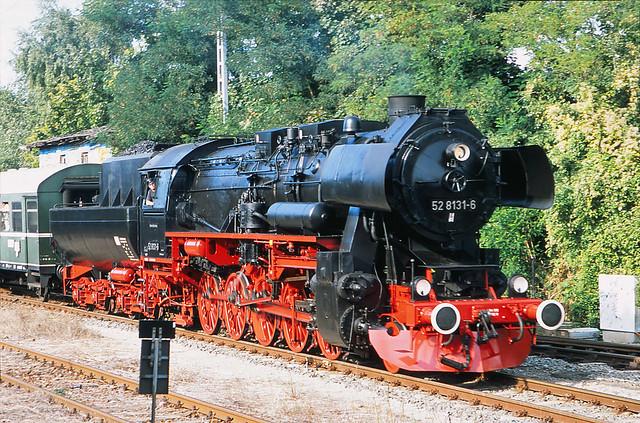 Berlin Marienfelde 8.9.2012 Dampflok 528131-6