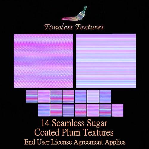 TT 14 Seamless Sugar Coated Plum Timeless Textures