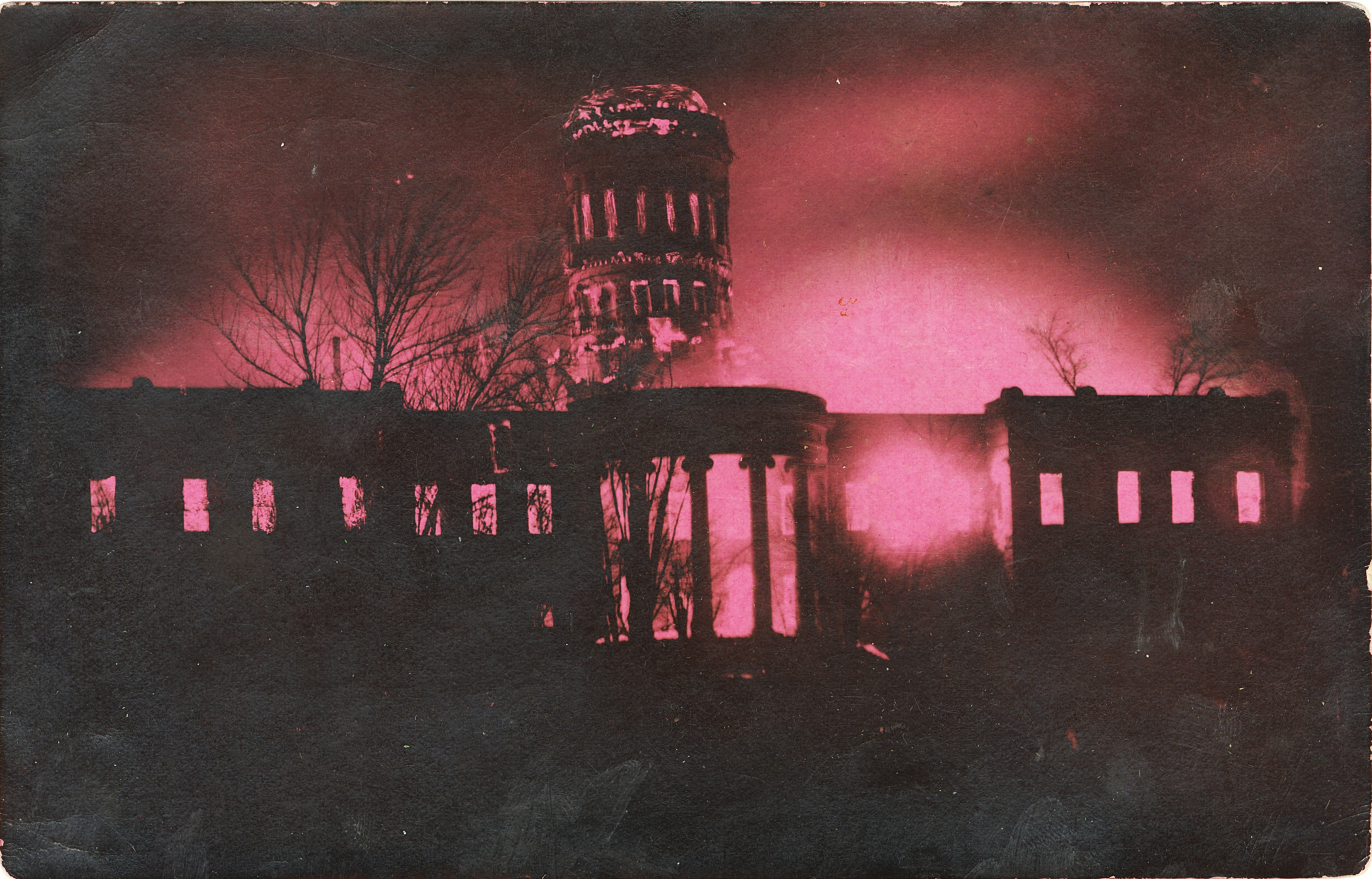 Second Capitol - 1911 Fire