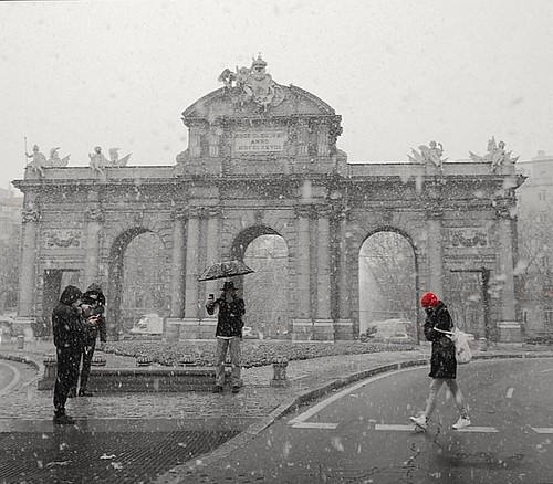 Nieva en Madrid | by juanplaza7