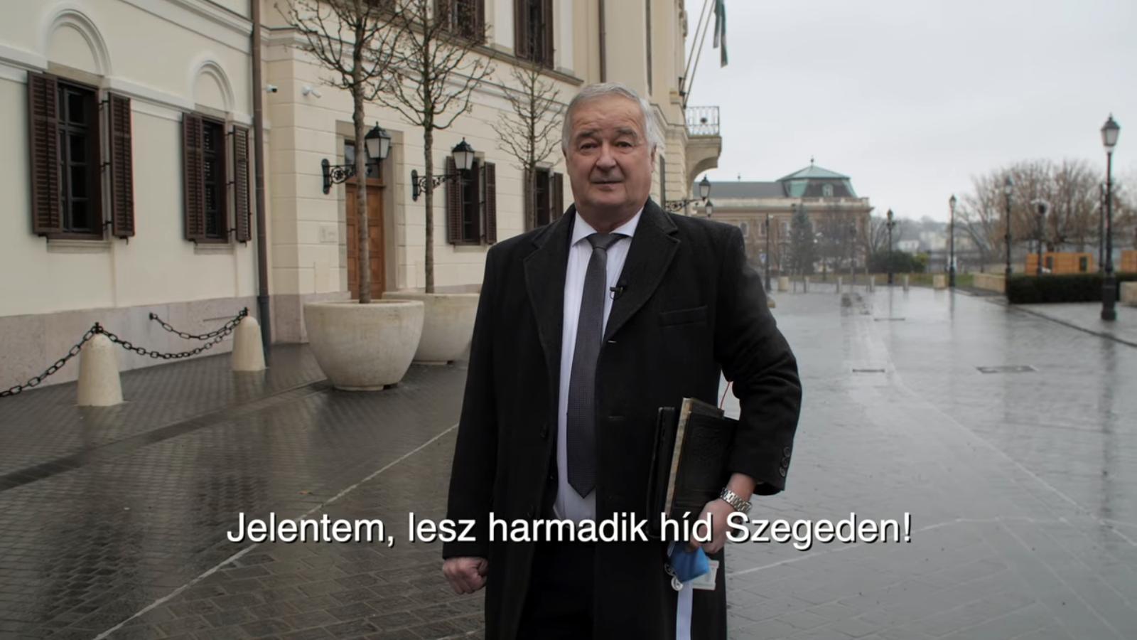 """Nemesi Pál felment Budapestre, hogy """"minden idők legnagyobb fejlesztéseiről"""" tárgyaljon"""