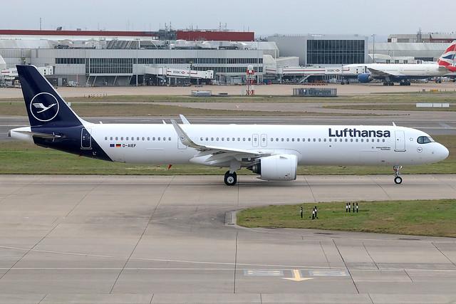 D-AIEF | Airbus A321-271NX | Lufthansa
