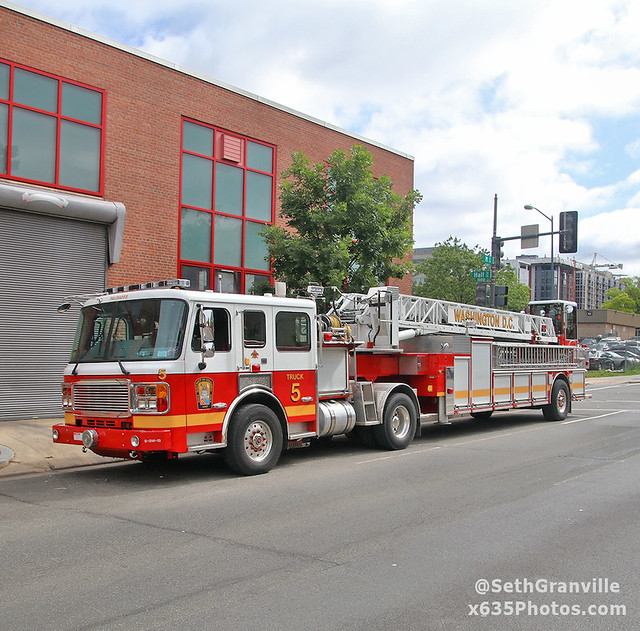 District of Columbia Fire Department Truck 5