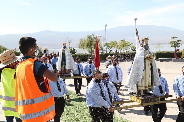 Recorrido de Los Reyes en Cajititlán 2021