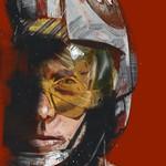 Luke Skywalker Art Portrait