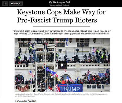 U.S. Capitol Police are nothing but Keystone Cops