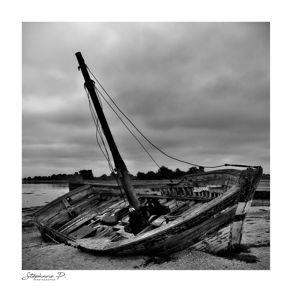 Vieille coque en Morbihan