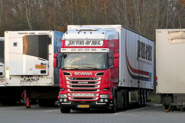 Scania R520 JP. Vis Kwintsheul