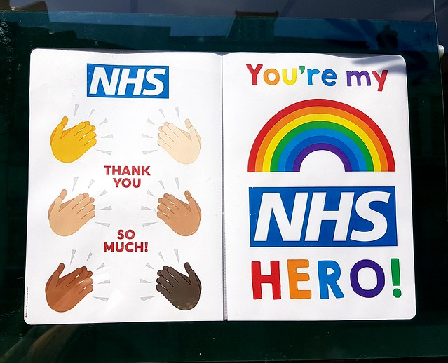 Tributes to NHS