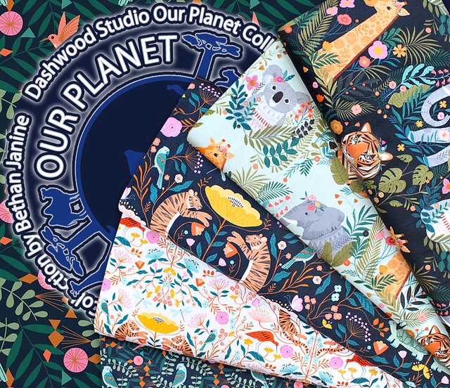 Dashwood Studio Our Planet Collection by Bethan Janine