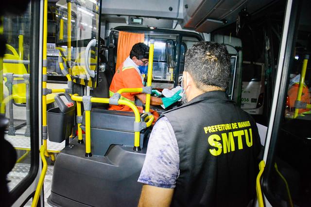 07.12.2020 prefeitura Vistoria de Higienização nas Empresas de Transporte Público