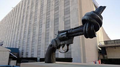 The Knotted Gun Sculpture Edit 2021