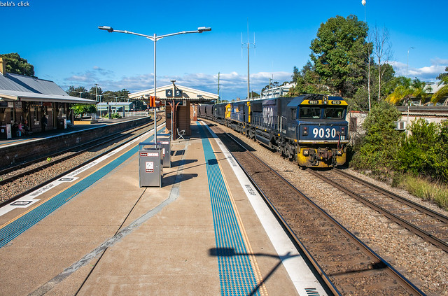 Coal Train at Maitland