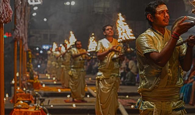 Ganges Arti Varanasi DSC_8647