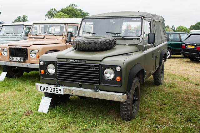 Land-Rover 110 MoD Evaluation Vehicle - 1983