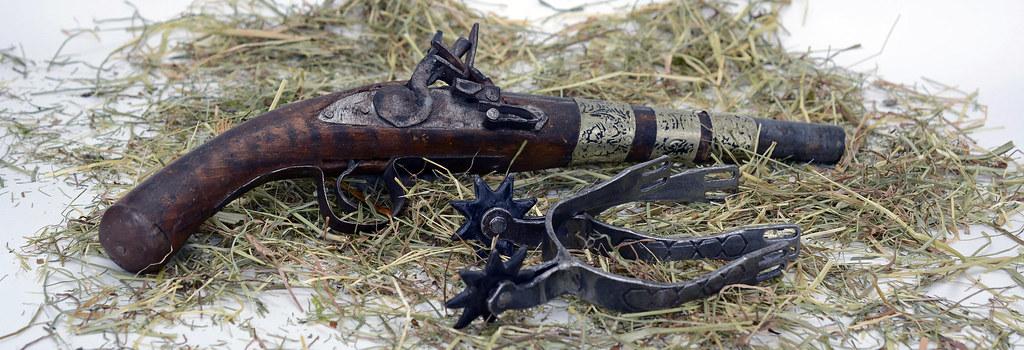 Pistol Spores Hay Wild West  Edit 2021