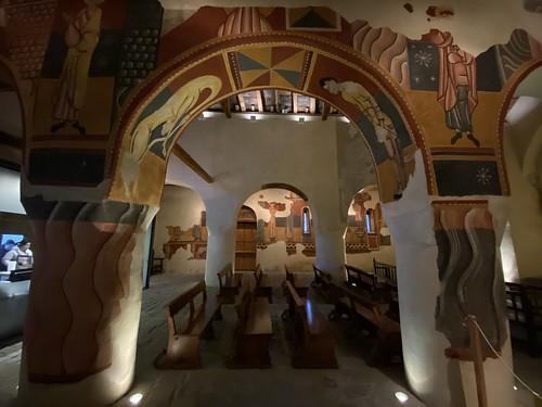 Frescos interiores de la Iglesia de San Juan de Bohí