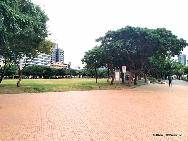 Taichung city plaza park , Taichung, Middle Taiwan, SJKen, Nov 8, 2020.