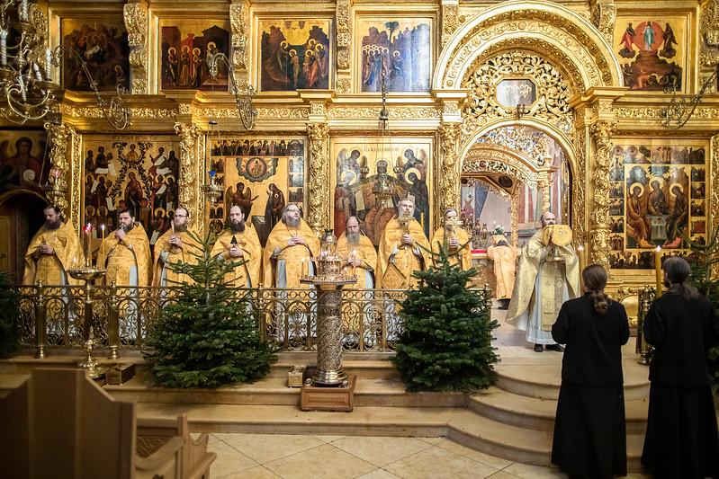 7-8 января 2021, Попразднство Рождества Христова. Собор Пресвятой Богородицы / 7-8 January 2021, The Feast of the Nativity of Christ. Cathedral of the Blessed Virgin Mary