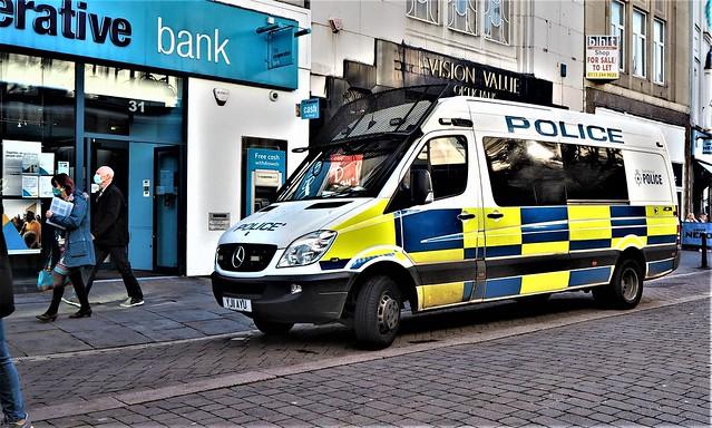 South Yorkshire Police van