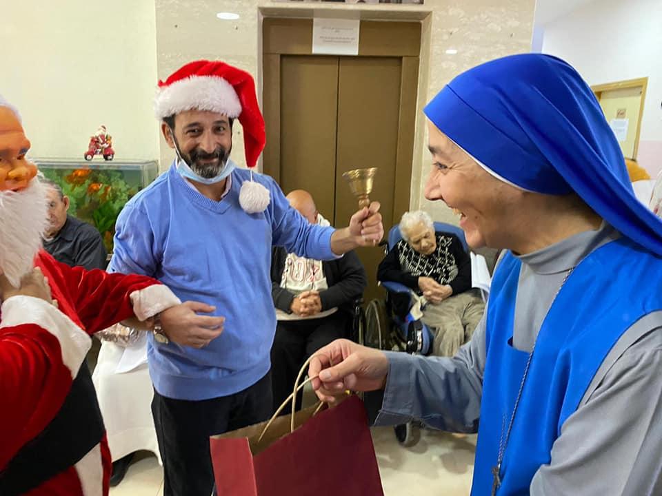 Palestina: Festejos de Navidad en el Taybe