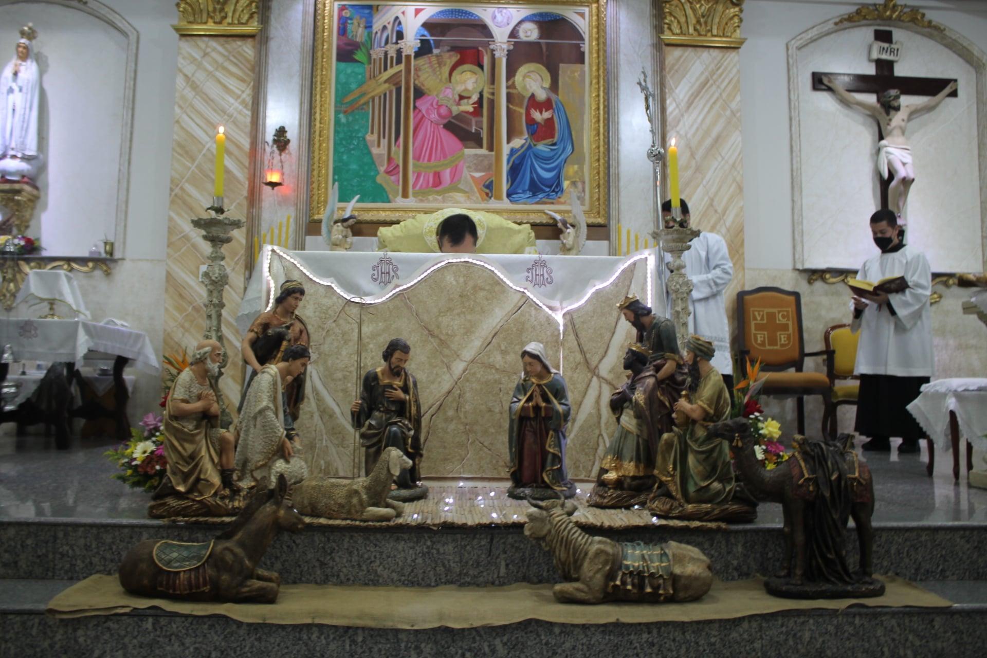Brasil: Misa de Navidad en la Parroquia del Verbo Encarnado