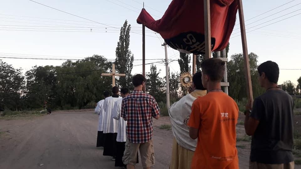 Argentina: Misión Popular en San Rafael