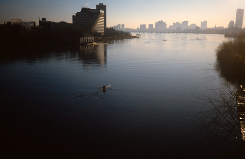 Charles River in the Morning