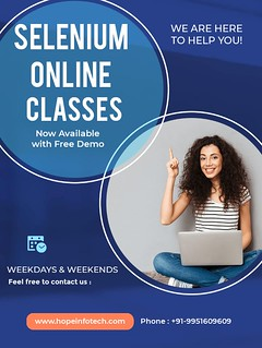 Selenium online classes | by hopeinfotech