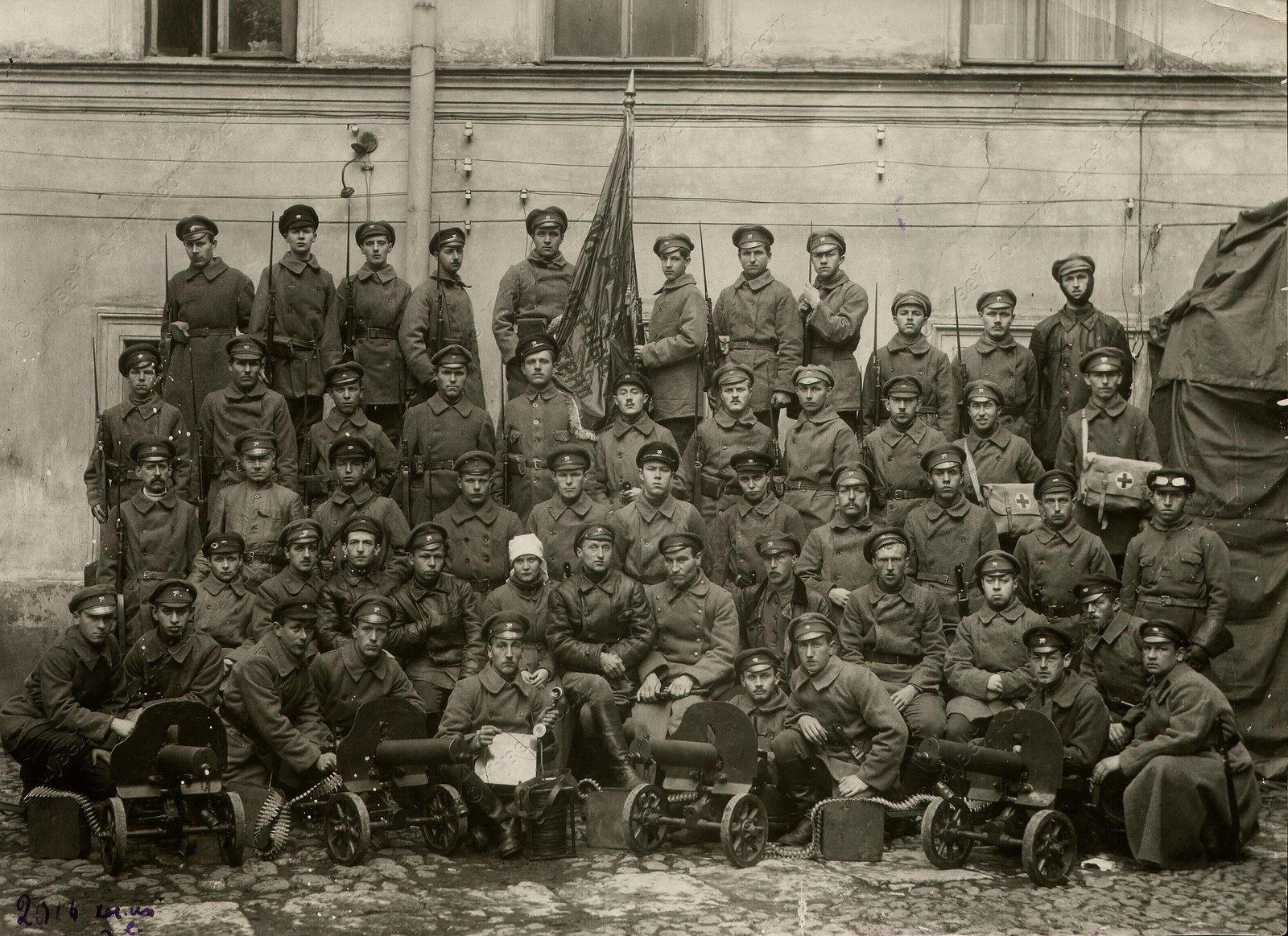 1918. 8-й Инженерный отряд перед отправкой на фронт