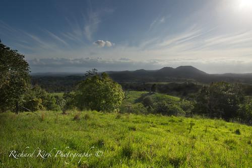 australia queensland eumundi view mountains vale landscape eerwah eerwahvale