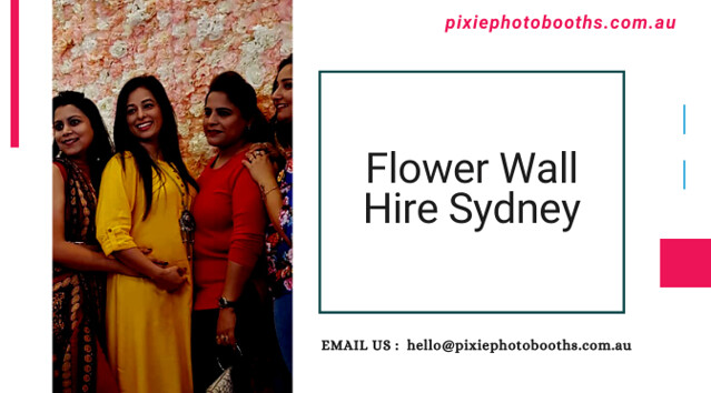 Get the Best Flower Wall Hire in Sydney