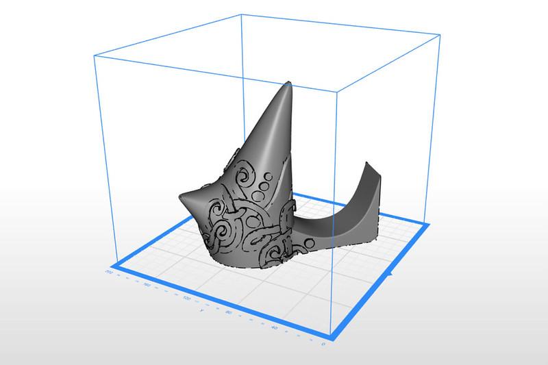 Jarnbjorn Print Setup in Zortrax Software