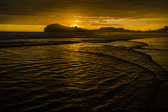 Castlepoint in the sunrise