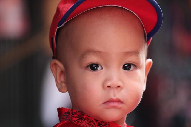 Portrait à la casquette