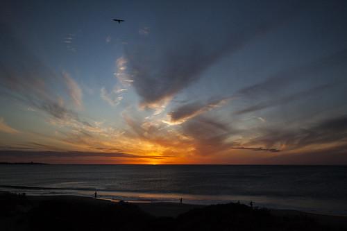 sunset beach ocean clouds sky 2021 canon westernaustralia australia