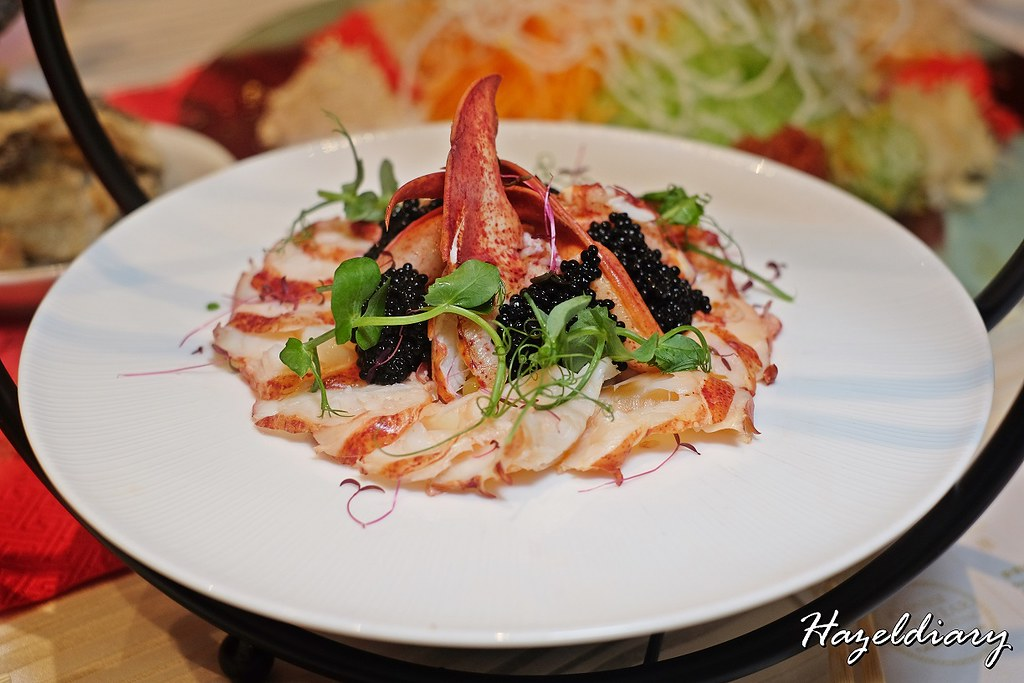 Wan Hao Chinese Restaurant Marriott- Lobster Yu Sheng