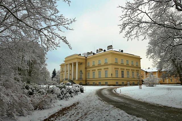 Castle in Kostelec nad Orlicí.