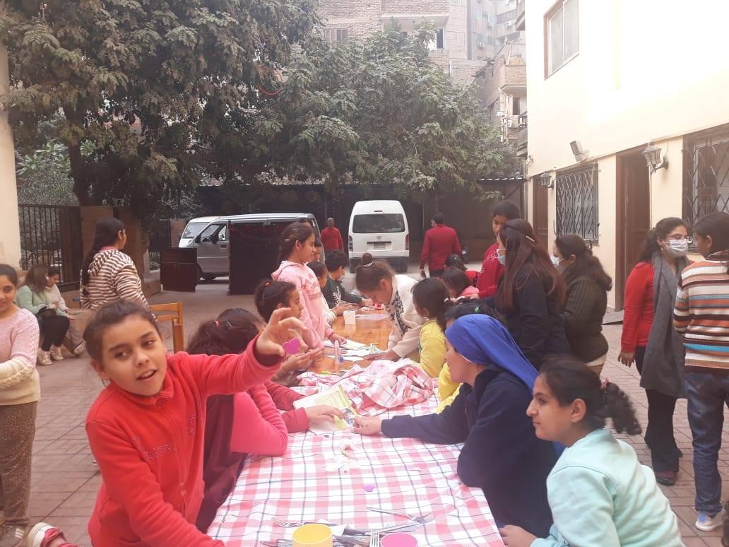 Egipto: Visita de un grupo de jóvenes a nuestros Hogares