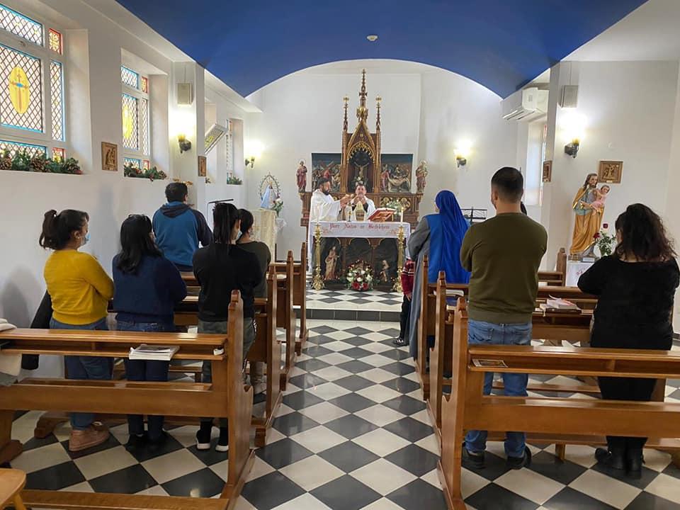 Tierra Santa: Misa de Navidad en el Hogar Niño Dios