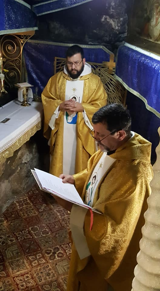 Tierra Santa: Misa de Navidad en la Gruta de Belén