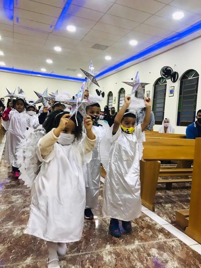 Brasil: Pesebre viviente, Parroquia Nossa Senhora da Boa Viagem