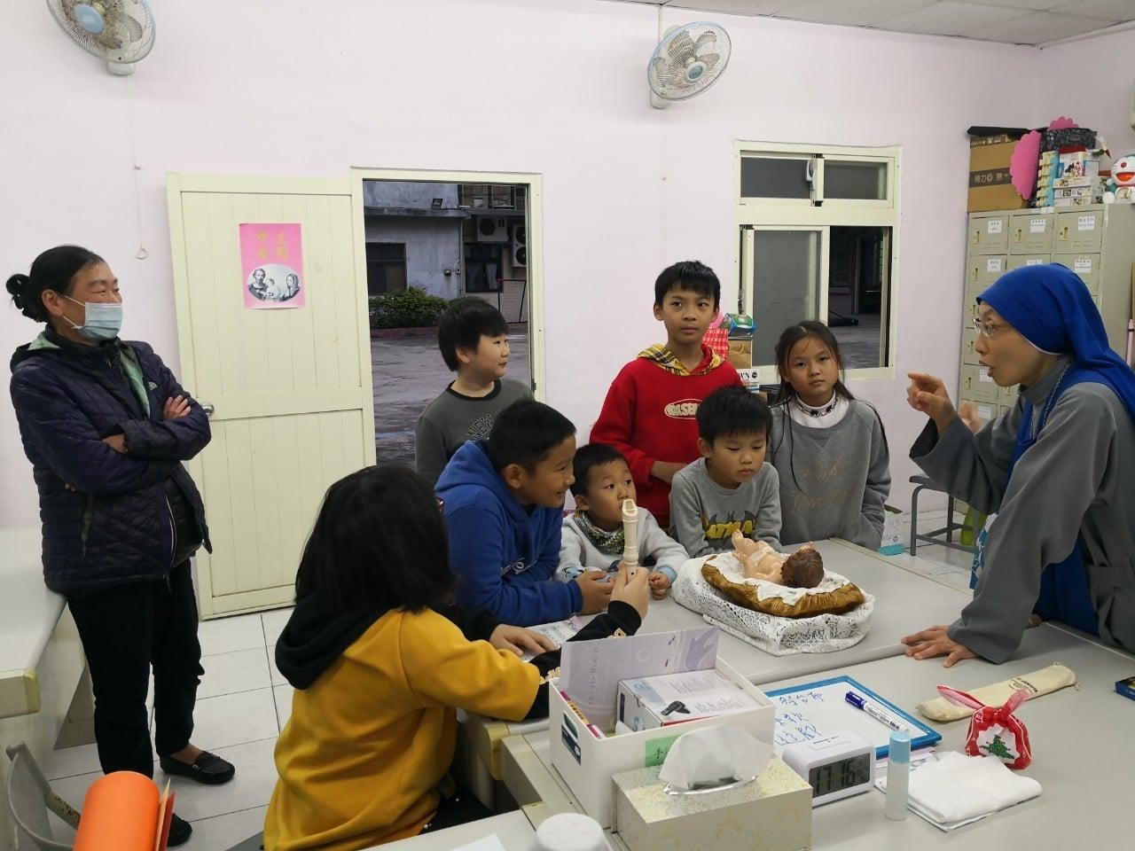 Taiwan: Navidad con los niños